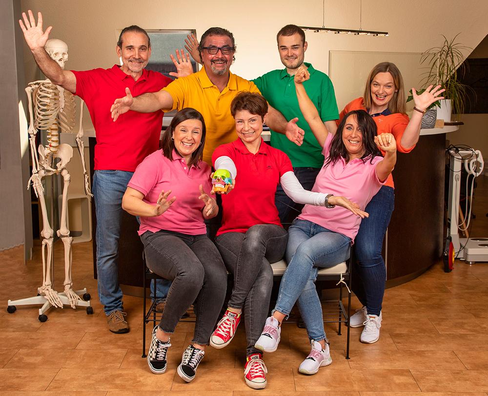 Sabi's Physio Profis Team